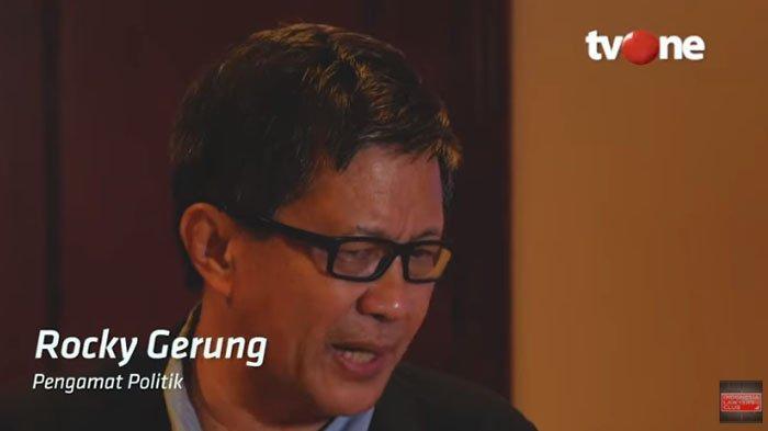 Rocky Gerung Ungkap Jawaban Kenapa Tidak Pernah Muncul Lagi di ILC, Singgung Nama Karni Ilyas