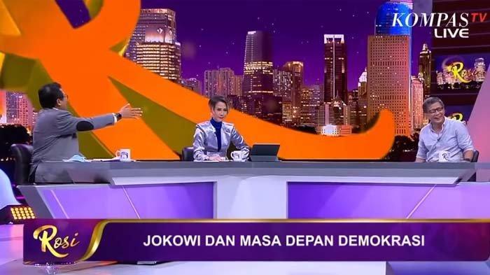 Sebut Rocky Gerung Selalu Salahkan Jokowi, Fadjroel Ngotot Ucapkan Ini, Rosi Sampai Gebrak Meja