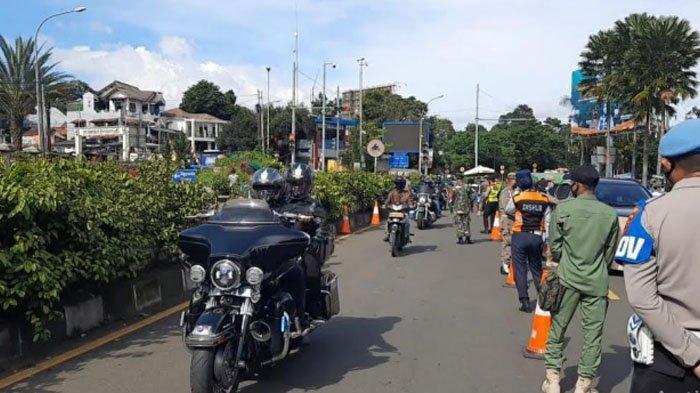 Heboh Rombongan Moge Lolos Pemeriksaan Rapid Antigen di Puncak, Ini kata Polisi hingga Bupati Bogor