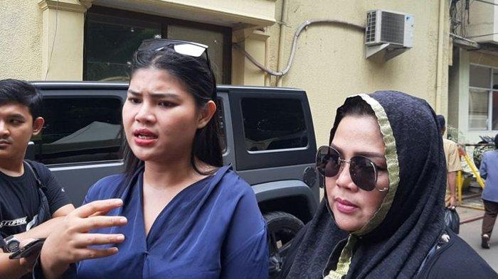 Datangi Polres Jakarta Barat, Rosa Meldianti: Besuk Mas Fatah Dong