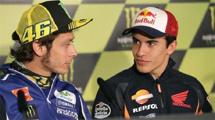Pernyataan Marquez Soal Klasemen Sementara, Rossi Harus Dihentikan !