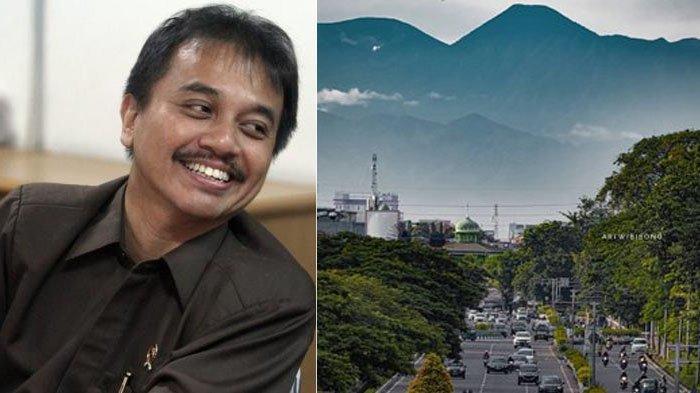 Viral Foto Kemayoran dengan Latar Gunung Gede Pangrango, Roy Suryo: Emang Bukan Tempelan Tapi Editan