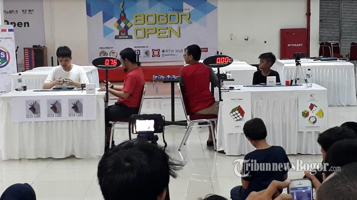 Komunitas Rubik Bogor, Sempat Vakum Kini Rajin Gelar Event