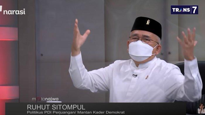 Akui Pernah Dibesarkan SBY, Ruhut Ngaku Sedih Moeldoko Dituduh Macam-macam : Mana Dosanya?
