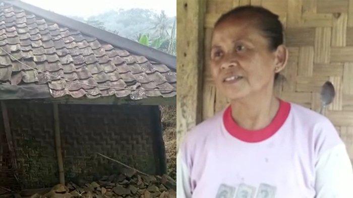Tinggal di Rumah Berdinding Bilik, Warga Nanggung Ini Curhat Berharap Dapat Bantuan Pemerintah