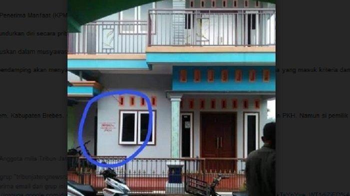 Viral Rumah Mewah di Brebes Terima PKH & Dilabeli Keluarga Miskin, Pemilik: 2 Tahun Lalu Lebih Jelek