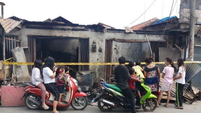 Rumah Pengantin Baru Terbakar Karena Lilin saat Listrik Padam, Istri Wafat, Suami Derita Luka Bakar