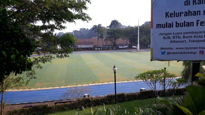 Ditutup Selama Covid-19, Begini Kondisi Rumput Taman Lapangan Sempur Bogor, Panjang dan Kuning