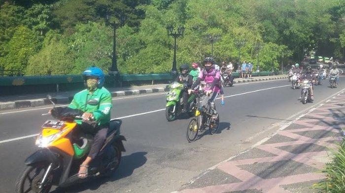 Lalu Lintas di Jembatan Sempur Kota Bogor saat ini Ramai Lancar