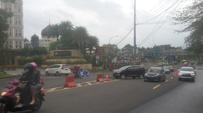Lalu Lintas Jalur Puncak di Simpang Gadog Lancar dari Kedua Arah