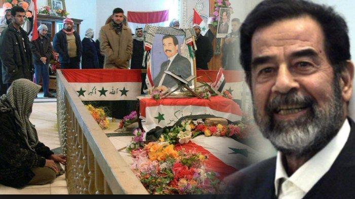 Bila Benar Sudah Wafat 12 Tahun Lalu, Dimana Jasad Saddam Husein ?