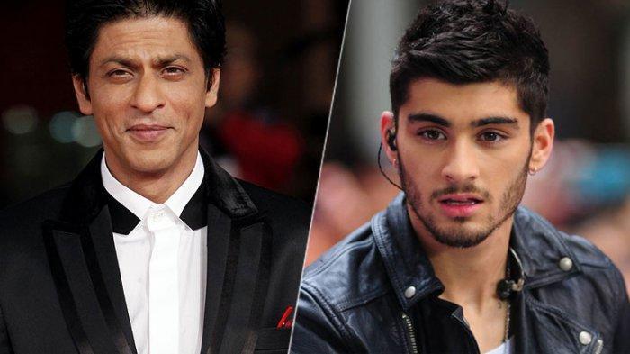 Idolakan Shah Rukh Khan, Zayn Malik Kasih Hadiah Kaset Film Bollywood ke Anak Gigi Hadid