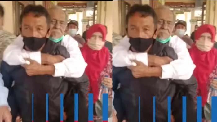 sakit stroke, Kakek Koswara harus digendong menantu, sikap Deden bikin adik kesal
