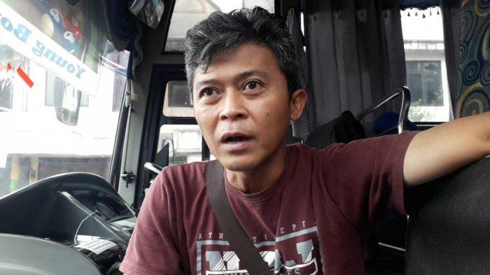 Jeritan Sopir Bus di Tengah Pelarangan Mudik, Pendapatan Anjlok 80 Persen : Boro-boro Baju Lebaran