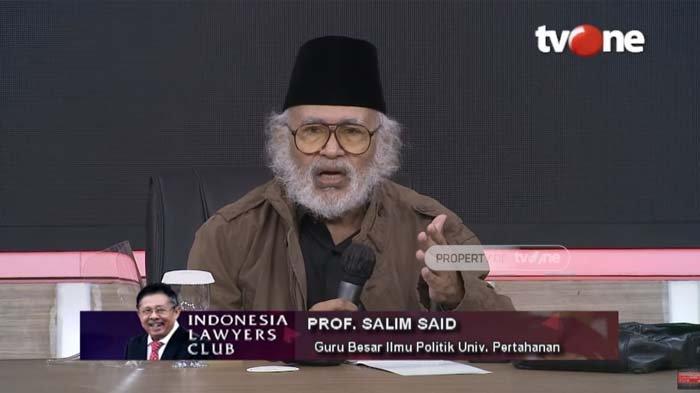Ungkap Sosok yang Mendorong Jokowi Agar Jadi Presiden, Prof Salim Said : Dia Itu Korban Saja