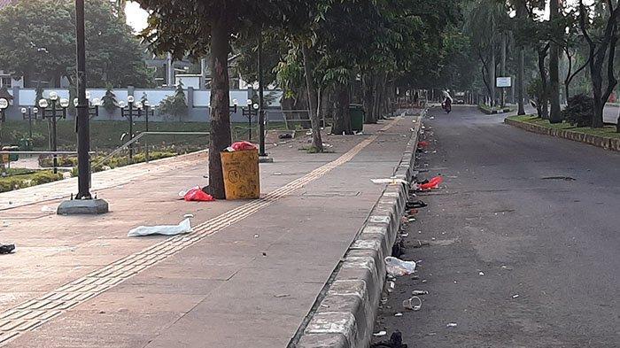 Sampah Berserakan di Sejumlah Titik Kawasan Cibinong, Begini Kata Warga