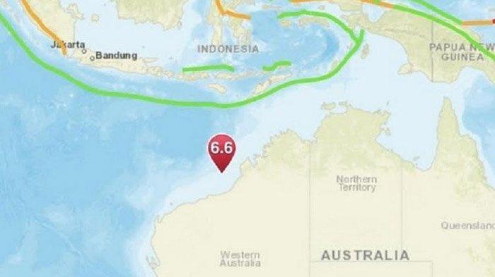 Gempa M 6,6 di Australia Terasa hingga Bima Nusa Tenggara yang Berjarak 878 Km, Ini Penjelasan BMKG