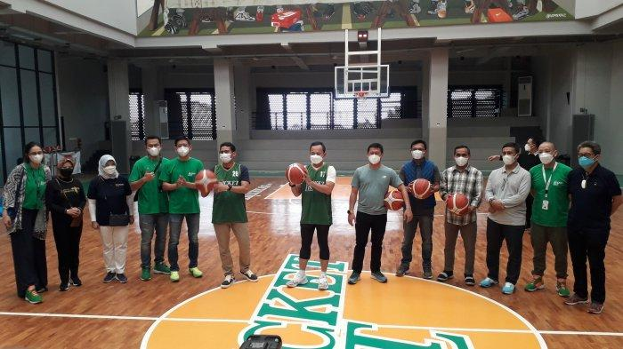 Sandiaga Uno Resmikan Pusat Pecinta Basket The Buckelist di Kota Bogor : Terlengkap se-Asia Tenggara