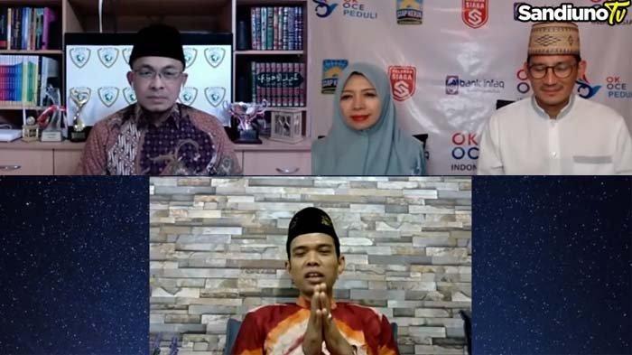 Ucap Permintaan Maaf, Ustaz Abdul Somad Ingat Dosanya kepada Sandiaga Uno : Saya Sedang Dilema