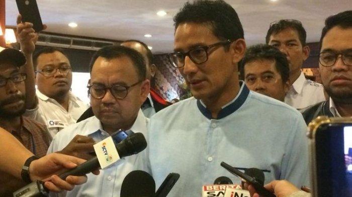 Persiapan Debat Kelima, Prabowo Subianto-Sandiaga Uno Akan Simulasi Selama 2 Hari