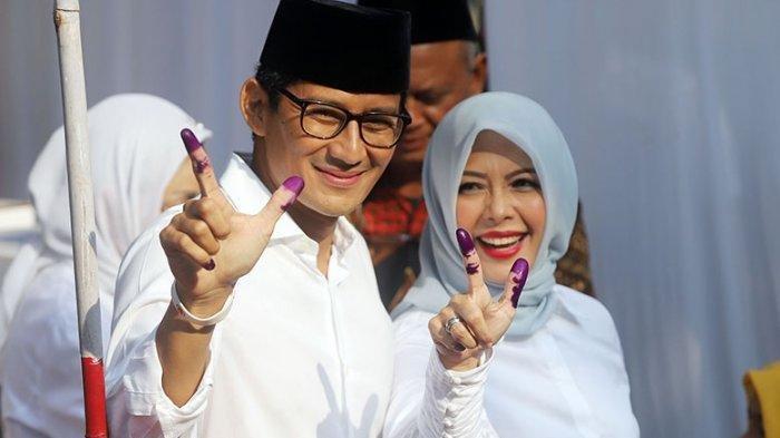 Sandiaga Ucapkan Selamat Untuk Jokowi-Maruf Amin, Pahami Rasa Kecewa Pendukungnya