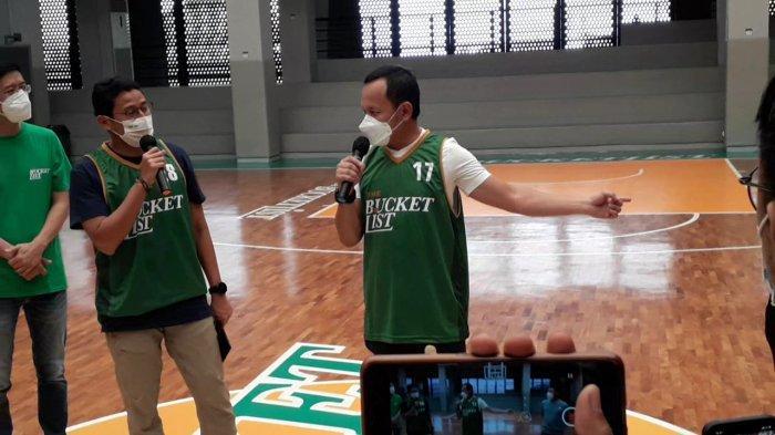 Kadispora Kota Bogor Dipuji Menteri Jago Main Basket, Respon Bima Arya Bikin Ngakak Tamu yang Hadir
