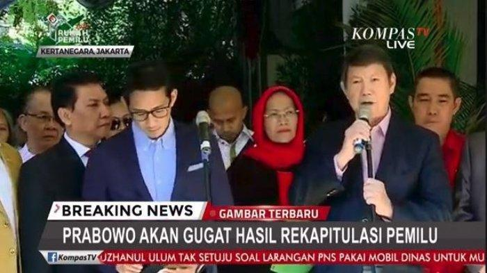 Pastikan Akan ke MK Malam Ini, Adik Prabowo Panggil Sandiaga Uno 'Pak Wapres'