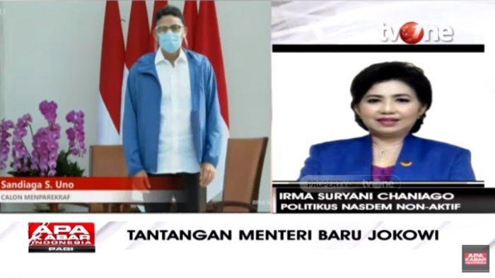 Sandiaga Uno Jadi Menteri Jokowi, Irma Chaniago Sindir 2 Politisi Gerindra: Presiden Digebukin Terus