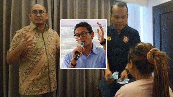Sandiaga Uno Tegaskan Penggerebekan PSK di Padang Bukan Tugas Andre Rosiade, Begini Nasib NN