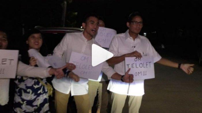 Sandiaga Uno Teriak 'Om Telolet Om', Anies Baswedan Kesal Lalu Ucapkan Ini