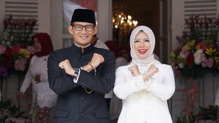 Sandiaga Uno Pulang Umroh Bareng Nur Asia Uno: Maaf Tidak Banyak Posting, Kami Ingin Fokus Ibadah