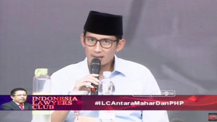 Soal Tudingan Mahar Politik Rp 500 M, Sandiaga: Mohon Dicabut Pernyataannya, Itu Tidak Benar