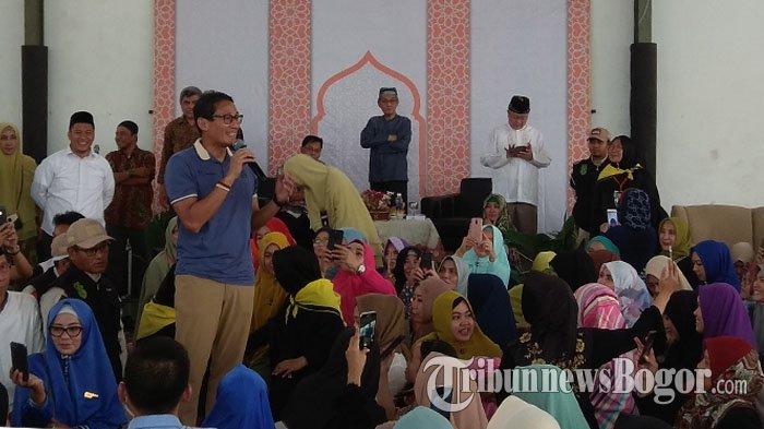 Jelang Kampanye Pilpres 2019, Sandiaga Uno Ajak Pendukung Prabowo-Sandi Tidak Keluar Grup WhatsApp