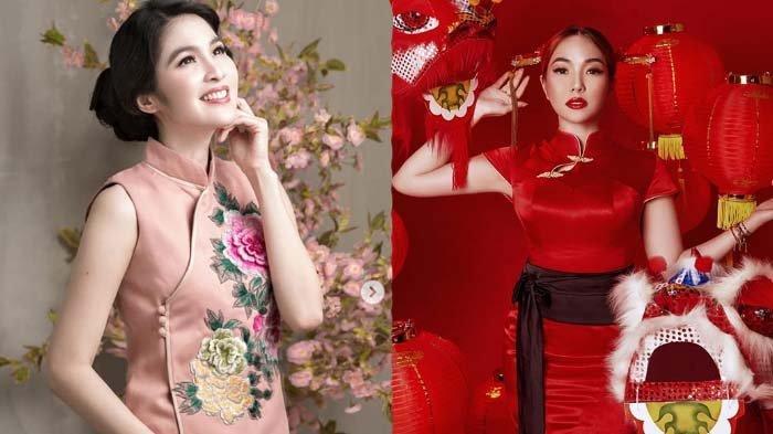 7 Artis Keturunan Tionghoa Ini Rayakan Imlek Pakai Busana Nuansa Merah, Mana Paling Cantik?