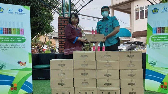 Hand Sanitizer Buatan IPB University Sudah Disalurkan ke Rumah Sakit, Ini Isi Kandungannya