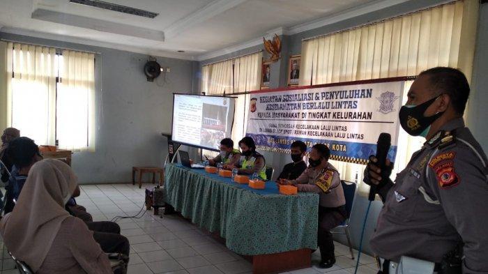 Satlantas Polresta Bogor Kota Berikan Materi Berlalu Lintas yang Aman dan Taat Aturan