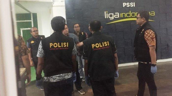 UPDATE - Satgas Antimafia Bola Tetapkan 3 Tersangka Perusak Dokumen di Kantor Komdis PSSI