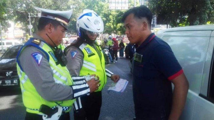 Polisi Tawarkan Tebus Denda Ditempat Saat Razia di Jalan Pajajaran Kota Bogor, Ini Penjelasannya