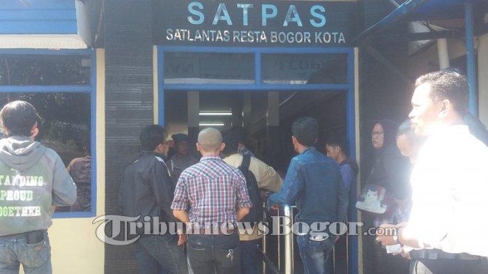 Material SIM Kosong, Kasatlantas Polresta Bogor Kota Imbau Pemohon Tak Percaya Calo