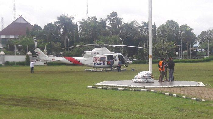 Helikopter Disiagakan di Cibinong, Sehari Bisa 4 Kali Kirim Bantuan untuk Korban Longsor di Sukajaya