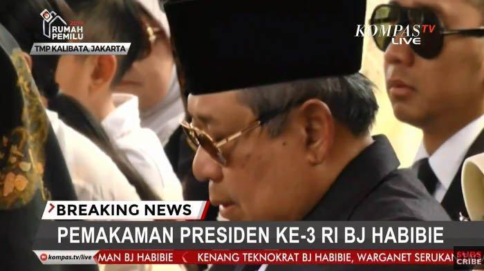 Anak Sulung Sebut Habibie dan Ainun Kini Bisa Bersatu Sesuai Dambaan Sang Ayah, Ekspresi SBY Disorot