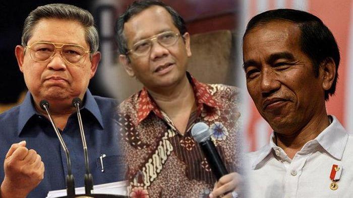 Tudingan SBY Dalang Dibalik Demo Tolak Omnibus Law, Mahfud MD Klarifikasi: Kapan Kami Bilang Begitu?