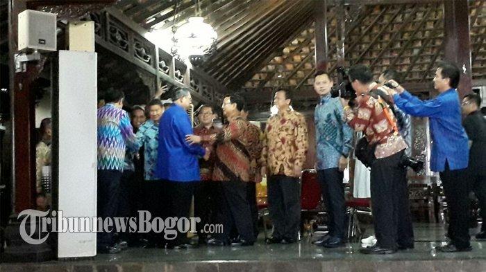 Bertemu SBY, Prabowo : Mau Silaturahmi