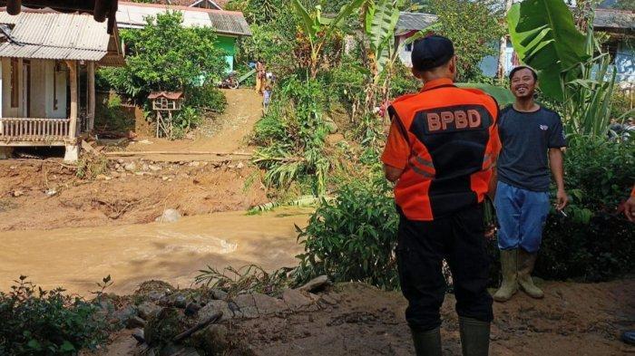 5 Rumah Terdampak Banjir Bandang di Nanggung Bogor, 2 Jembatan Putus