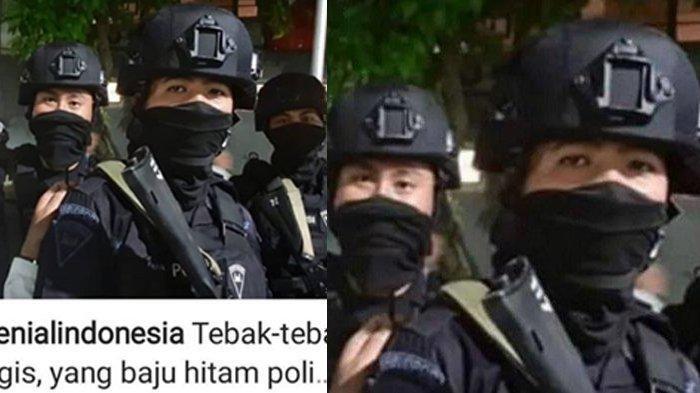 Sempat Disebut Polisi WNA Saat Jaga Aksi 22 Mei, Terungkap Identitas Anggota Brimob Ini Sebenarnya