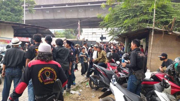Sejumlah Ormas Berkumpul di Jalan Soleh Iskandar Bogor, Kapolsek Ungkap Penyebabnya