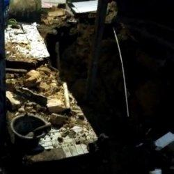 Imbas Cuaca Buruk, Sejumlah Rumah di Dekat Proyek Double Track di Kota Bogor Tergerus Longsor