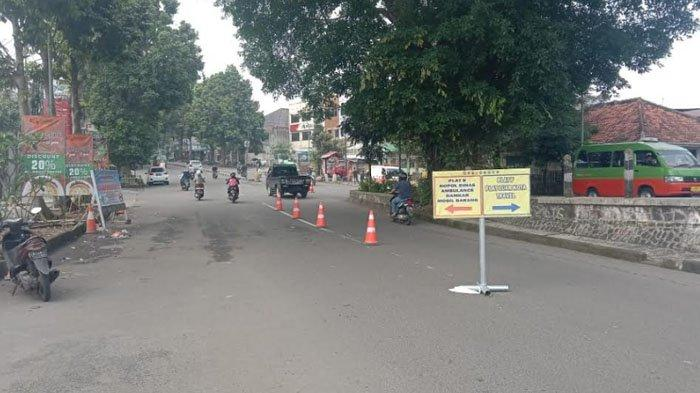 Jelang Siang Ini Sejumlah Titik Sekat di Kota Bogor Tak Ada Penjagaan