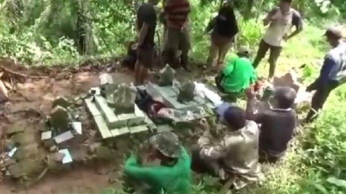 Geger Puluhan Makam Terbongkar, Kain Kafan dan Mayat Menyembul dari Dalam Kuburan