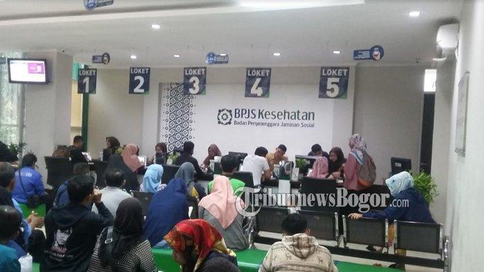 Tarif Iuran Naik, Kantor BPJS Kesehatan Cabang Bogor Kebanjiran Pengunjung yang Ingin Turun Kelas